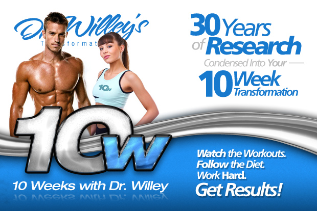 Dr Willey 10 W Diet Program Menu