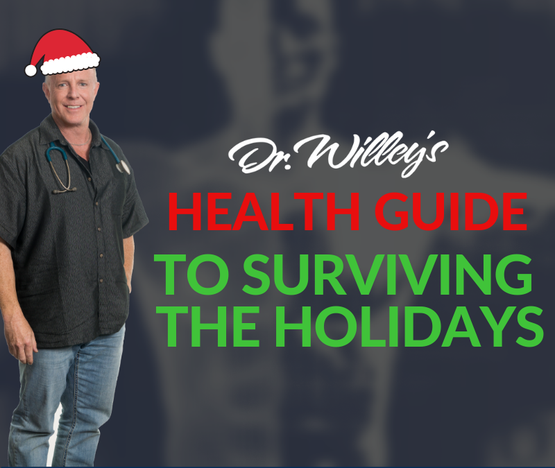 RecoverMe Podcast: Dr. Willey's Health Guide to Surviving the Holidays #008