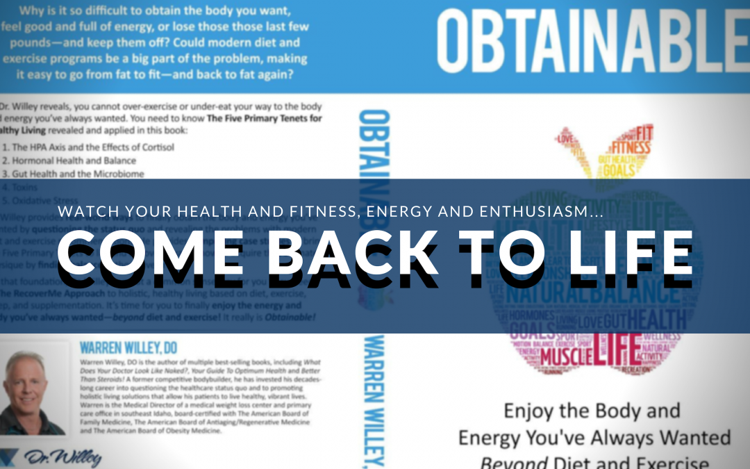 Obtainable: Enjoy the Body and Energy You've Always Wanted – Beyond Diet and Exercise